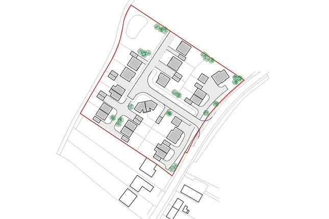 Thumbnail Land for sale in Asperton Road, Wigtoft