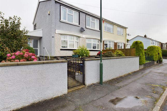 Thumbnail Semi-detached house for sale in Clydach Avenue, Rassau, Ebbw Vale, Gwent