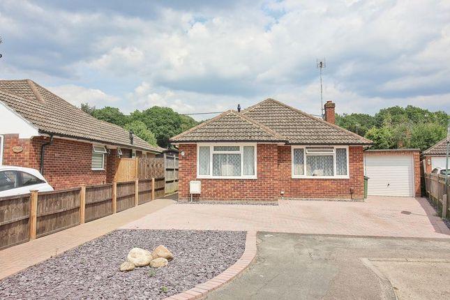 Thumbnail Detached bungalow for sale in Warwick Road, Ash Vale, Aldershot