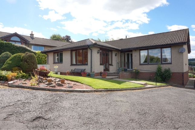 Thumbnail Detached bungalow for sale in Catrail Road, Galashiels