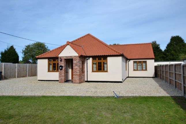 Thumbnail Detached bungalow for sale in Bittering Street, Gressenhall, Dereham
