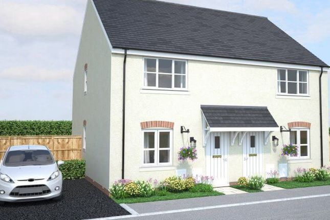 Thumbnail Semi-detached house for sale in Raleigh Gardens, Bodmin