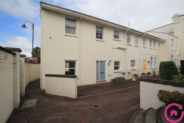 Thumbnail End terrace house to rent in Suffolk Square, Cheltenham
