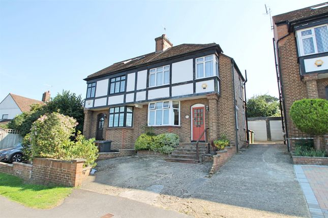 Thumbnail Semi-detached house for sale in Highland Drive, Bushey