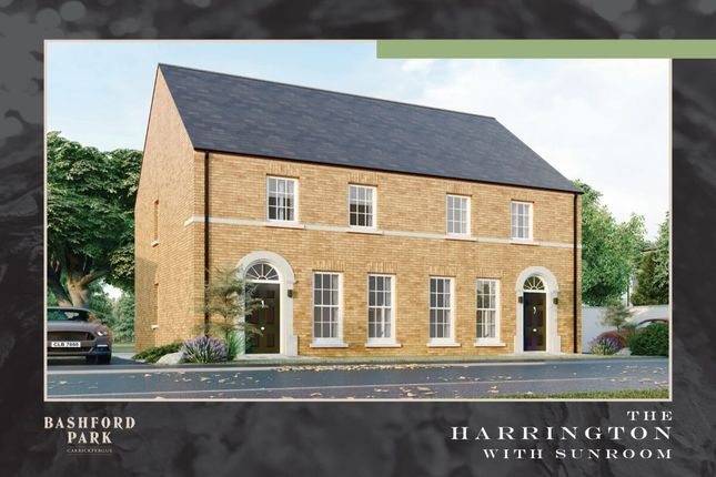 Thumbnail Semi-detached house for sale in Bashford Park, Carrickfergus