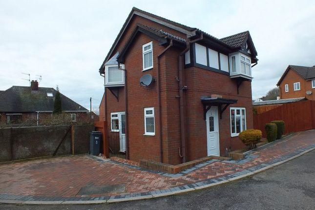 Thumbnail Detached house for sale in Stringer Court, Tunstall, Stoke-On-Trent