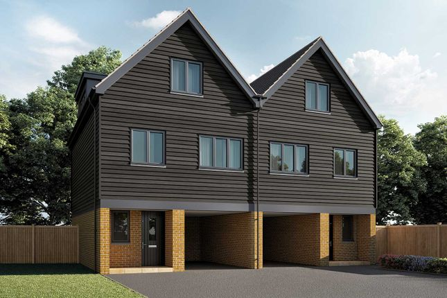 """Thumbnail Semi-detached house for sale in """"The Wilkins"""" at Warfield, Bracknell"""