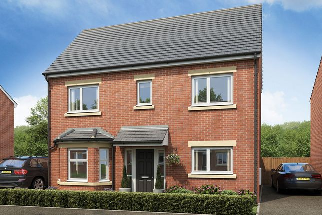 Thumbnail Detached house for sale in Plot 38 The Huna, Burton Road, Manorfields, Castle Gresley