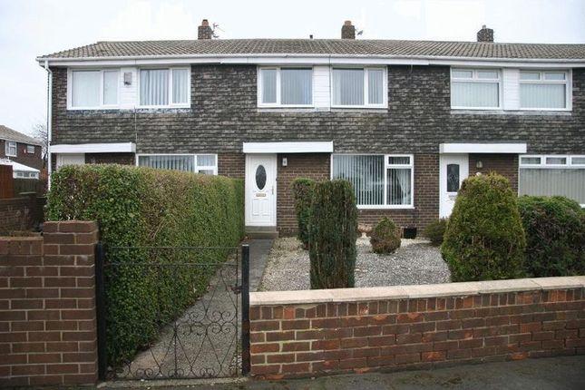 Thumbnail Terraced house for sale in Highfield Drive, Ashington