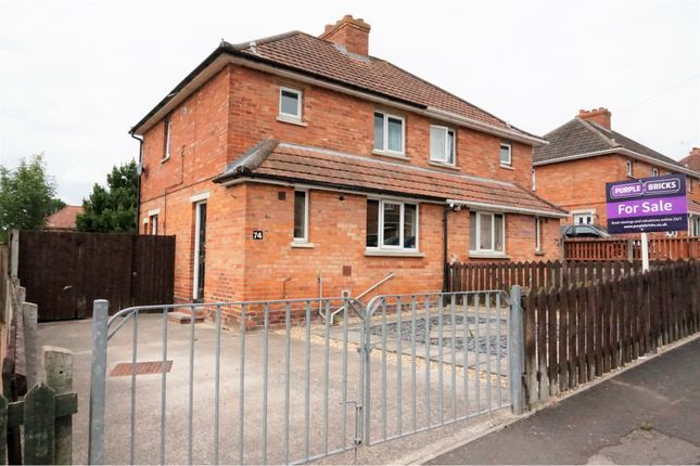 Thumbnail Semi-detached house for sale in Lyngford Square, Taunton
