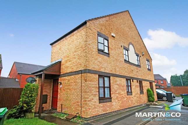 Thumbnail Semi-detached house for sale in Hawkins Croft, Tipton