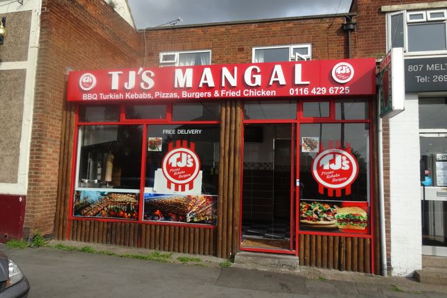 Thumbnail Restaurant/cafe to let in Melton Road, Thurmaston, Leicester