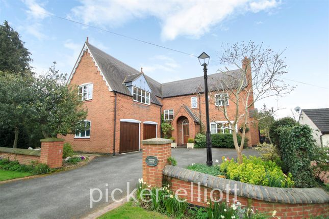 Thumbnail Detached house for sale in The Green, Dadlington, Nuneaton