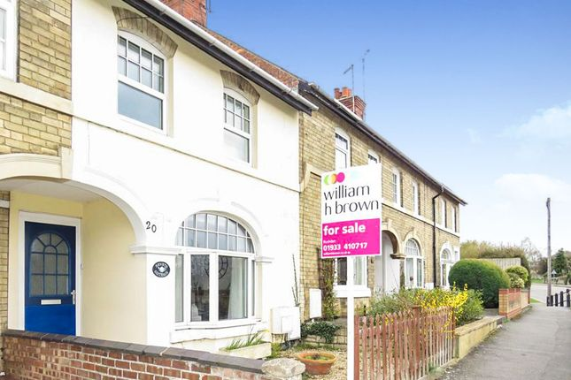 Thumbnail Terraced house for sale in North End, Higham Ferrers, Rushden