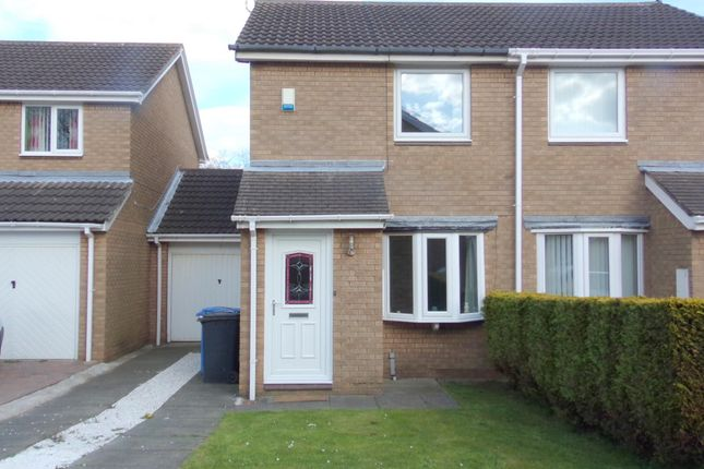 Thumbnail Semi-detached house to rent in Warkworth Drive, Pegswood, Morpeth