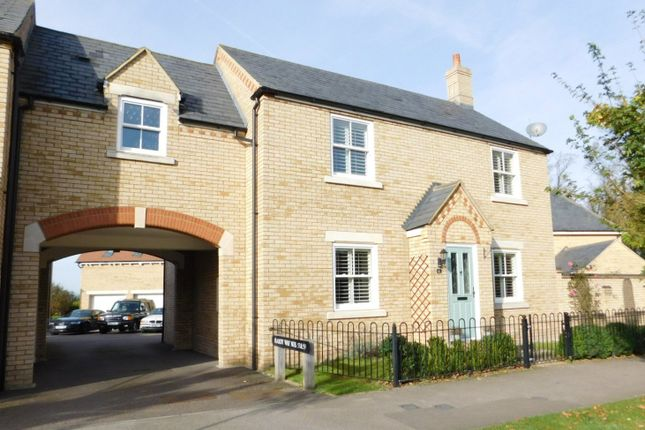 Thumbnail Link-detached house for sale in Hardy Way, Fairfield, Stotfold, Herts