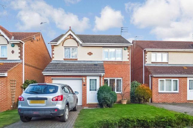 Thumbnail Detached house for sale in Norham Drive, Morpeth