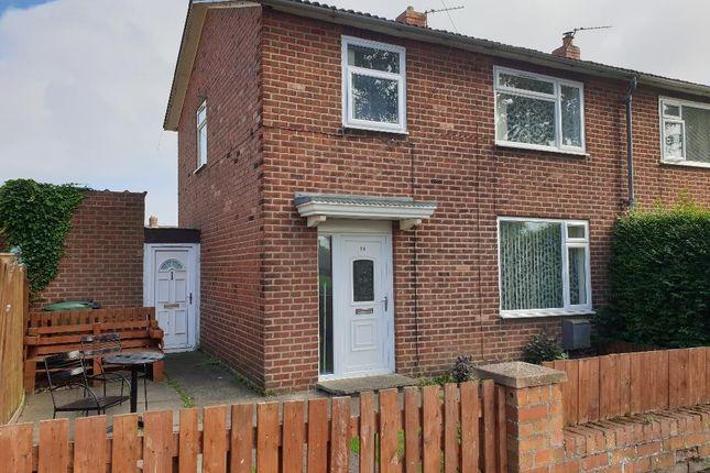 Thumbnail Semi-detached house to rent in Norham Road, Ashington