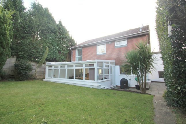 Thumbnail Detached house for sale in Leatfield Drive, Derriford, Plymouth