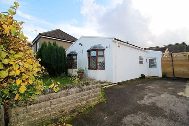 Thumbnail Detached bungalow for sale in Tynant Road, Beddau, Pontypridd