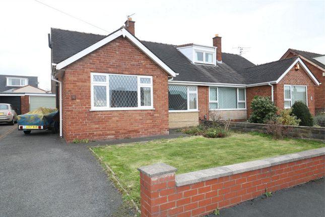 Thumbnail Semi-detached bungalow to rent in Daisy Croft, Lea, Preston, Lancashire