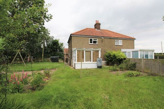 Thumbnail Semi-detached house to rent in Old Rectory Road, Brumstead, Norwich