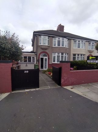 Thumbnail Semi-detached house for sale in Church Road, Litherland, Liverpool