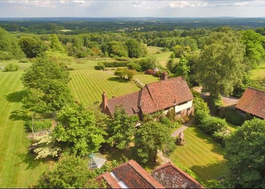Thumbnail Detached house for sale in Scords Lane, Toys Hill, Westerham