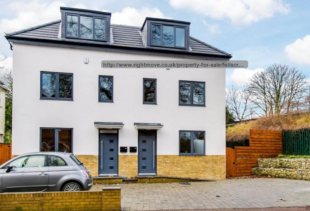 Semi-detached house to rent in Mortlake Road, Kew