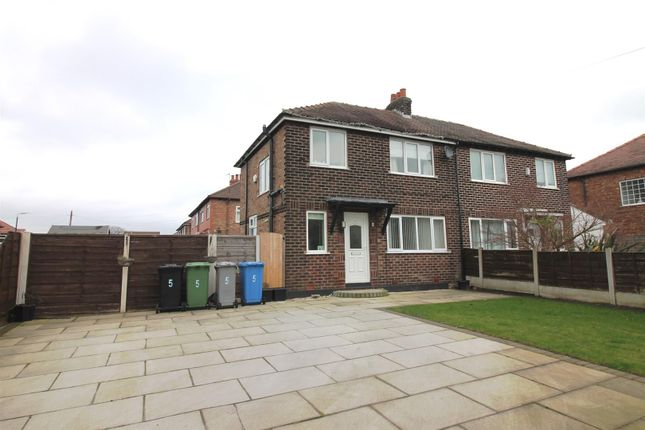 Thumbnail Semi-detached house to rent in Canterbury Road, Urmston, Manchester