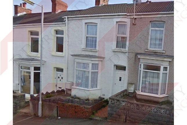 Thumbnail Terraced house to rent in Clare Street, Manselton, Swansea