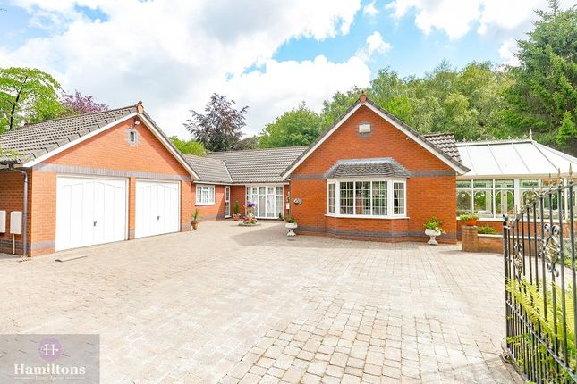 Thumbnail Detached bungalow for sale in Green Lane, Leigh, Greater Manchester.