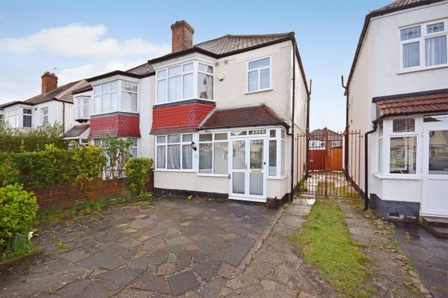 Semi-detached house for sale in Carlton Avenue West, Wembley, Middlesex