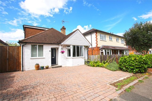 Thumbnail Detached bungalow for sale in Pyrford, Surrey