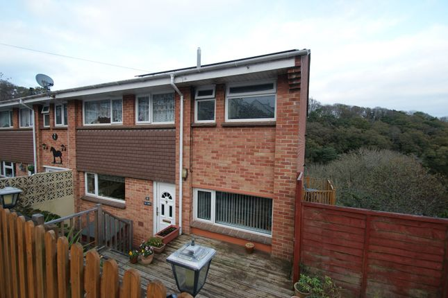 Thumbnail End terrace house for sale in Windmill Avenue, Preston, Paignton