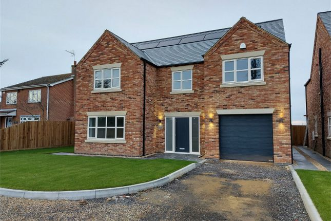 Thumbnail Detached house for sale in Hall Road, Outwell, Wisbech
