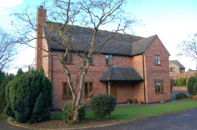 Thumbnail Detached house for sale in The Old Brickyard, West Haddon, Northampton