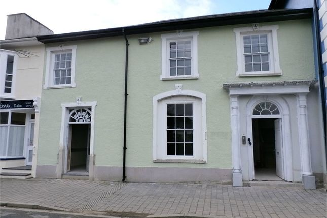 Commercial property for sale in Alban Square, Aberaeron, Ceredigion