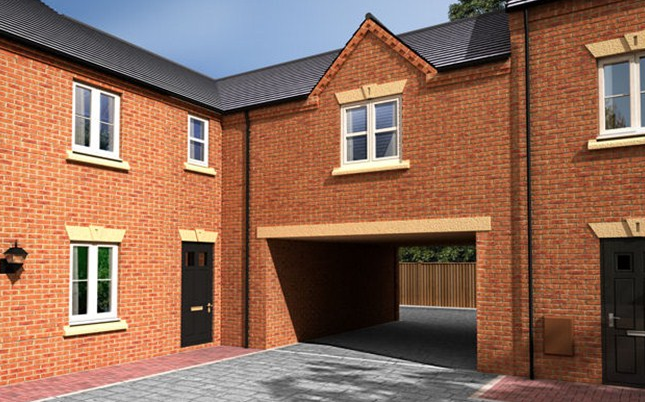 Thumbnail Flat for sale in William Nadin Road, Swadlincote, Derby