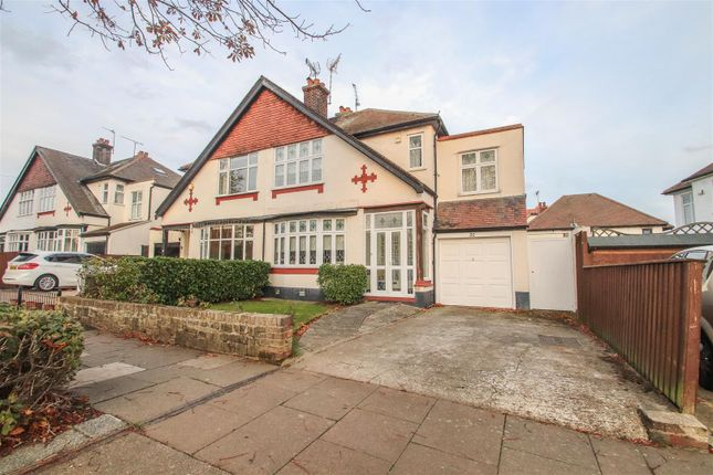 Thumbnail Semi-detached house for sale in Ridgeway Gardens, Westcliff-On-Sea