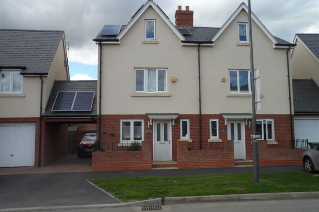 Thumbnail Semi-detached house to rent in Berryfields, Paradise Orchard, Aylesbury