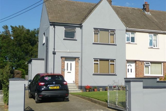 Thumbnail End terrace house for sale in 8 Maesyllan, Feidr Fawr, Dinas Cross, Newport