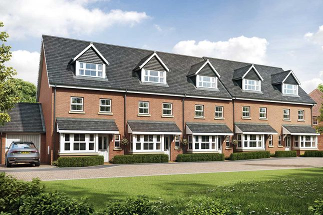 """Thumbnail Semi-detached house for sale in """"The Lincoln"""" at Eagle Avenue, Cowplain, Waterlooville"""