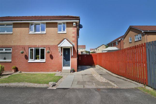 Thumbnail Semi-detached house for sale in Deanstone Place, Coatbridge