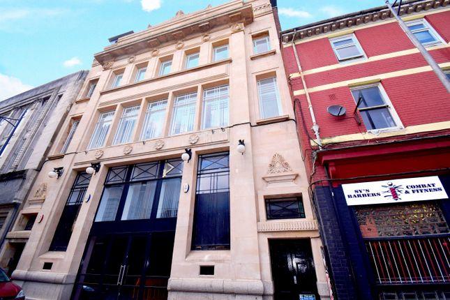 Thumbnail Studio to rent in Market Street, Newport