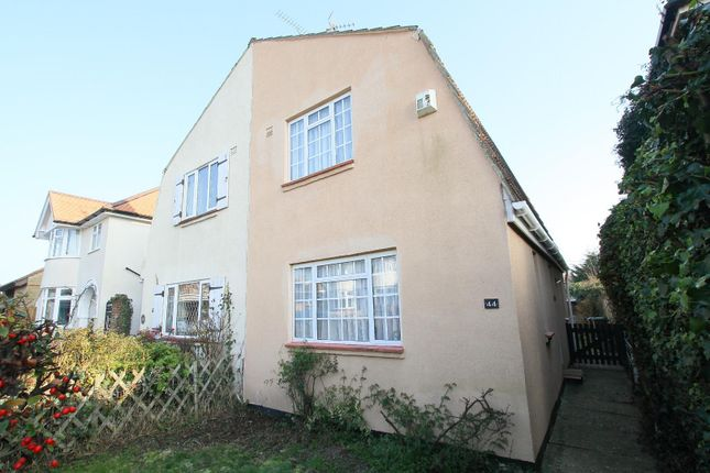 Thumbnail Semi-detached house for sale in Manor Road, Whitstable