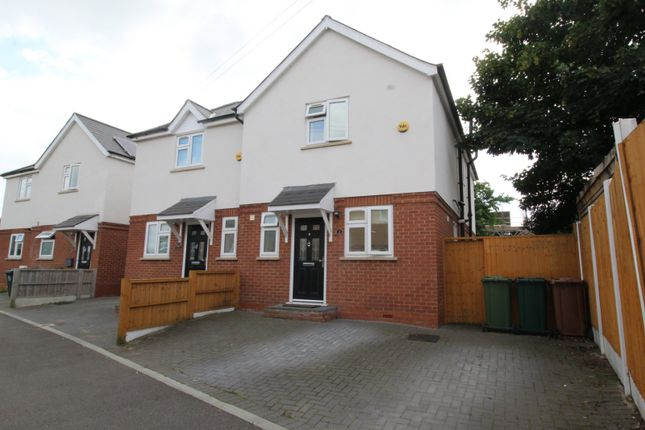 Thumbnail Semi-detached house for sale in Poole Lane, Stanwell, Staines