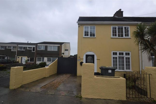 Thumbnail End terrace house to rent in Higher Audley Avenue, Torquay, Devon