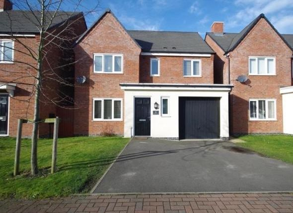 Thumbnail Detached house for sale in Middle Croft, Hawksyard Estate, Rugeley