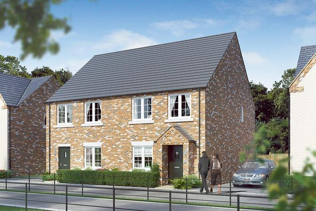 "Thumbnail Semi-detached house for sale in ""The Kilmington"" at Dark Lane, Whatton, Nottingham"